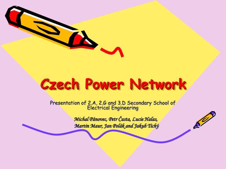 Czech Power Network