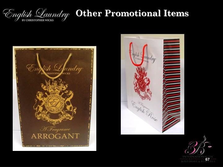 Other Promotional Items