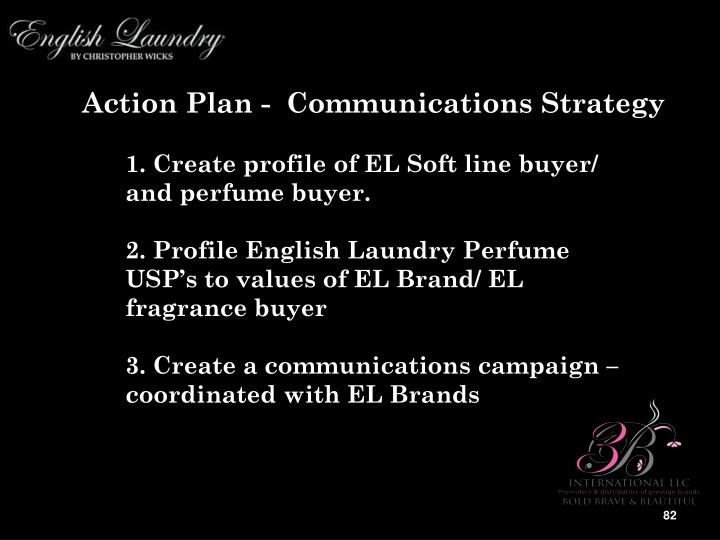 Action Plan -  Communications Strategy