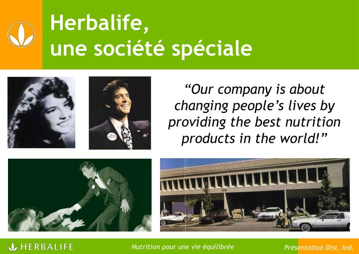 """""""Our company is about changing people's lives by providing the best nutrition products in the world!"""""""