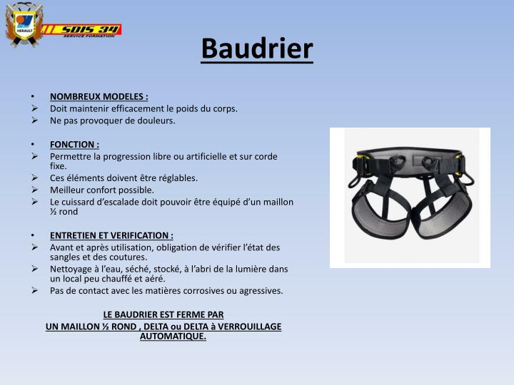 Baudrier