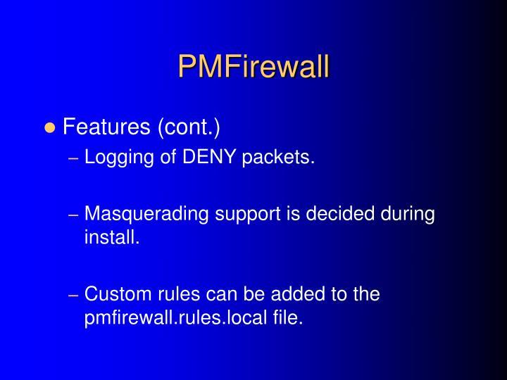 PMFirewall