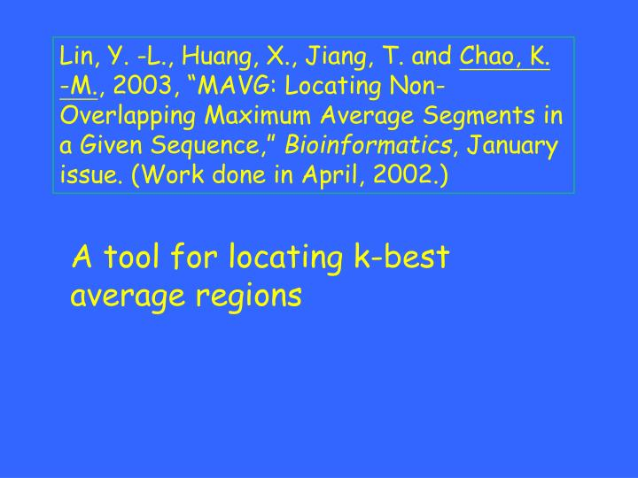 Lin, Y. -L., Huang, X., Jiang, T. and