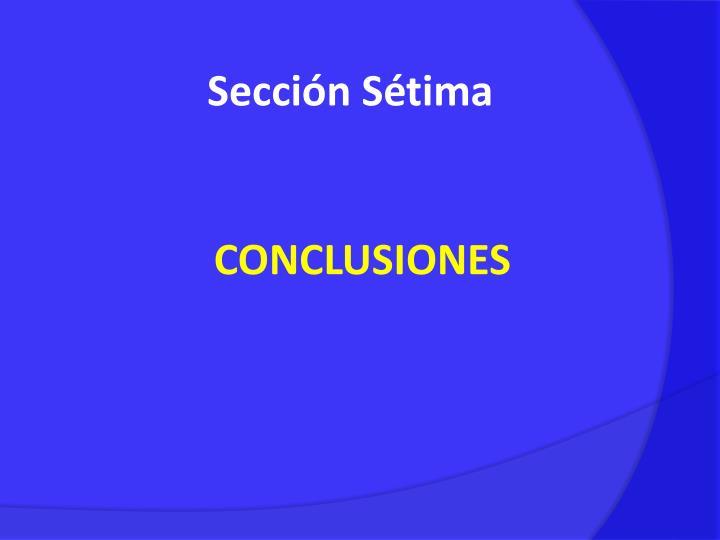 Sección Sétima