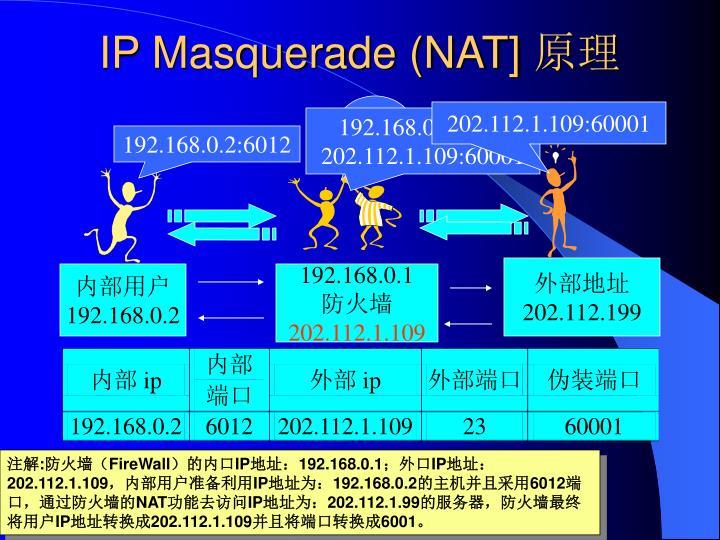 IP Masquerade (NAT]