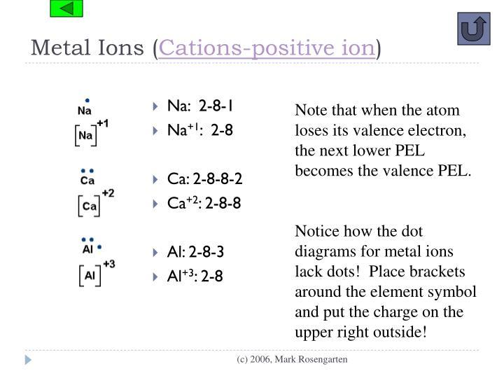 Metal Ions (