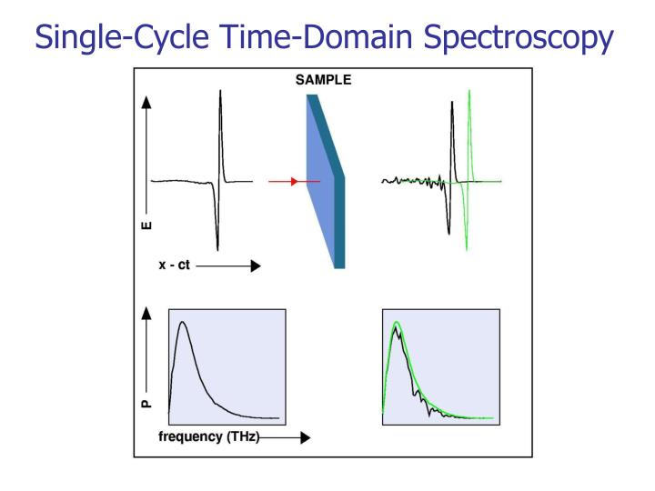Single-Cycle Time-Domain Spectroscopy