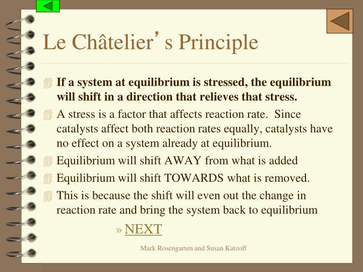 Le Châtelier