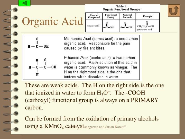 Organic Acid