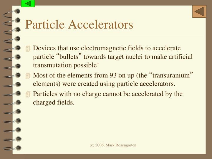 Particle Accelerators