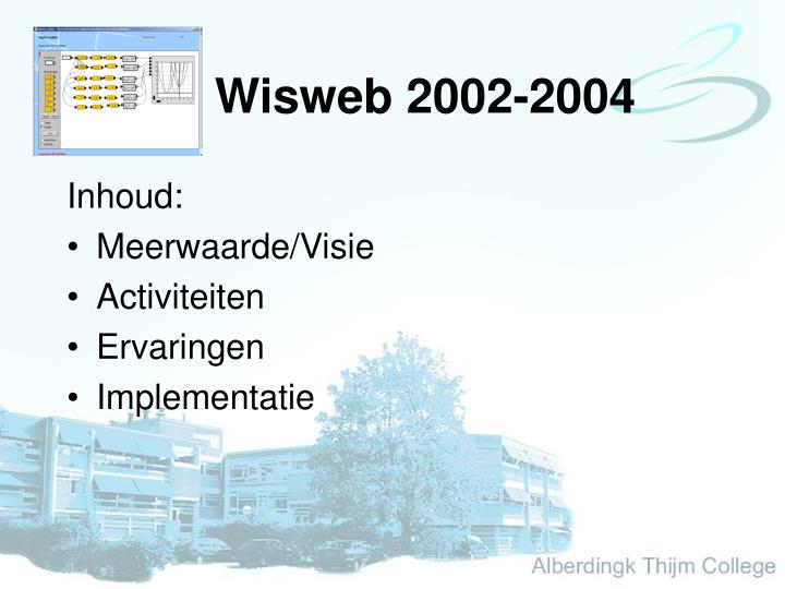 Wisweb 2002-2004