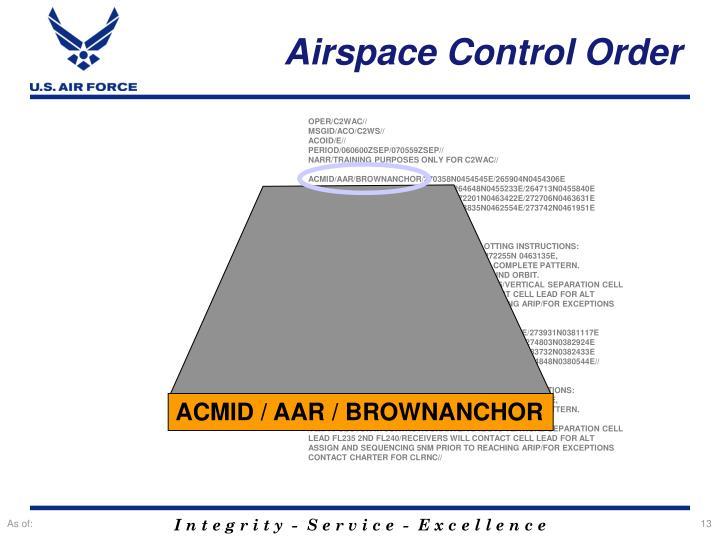 ACMID / AAR / BROWNANCHOR