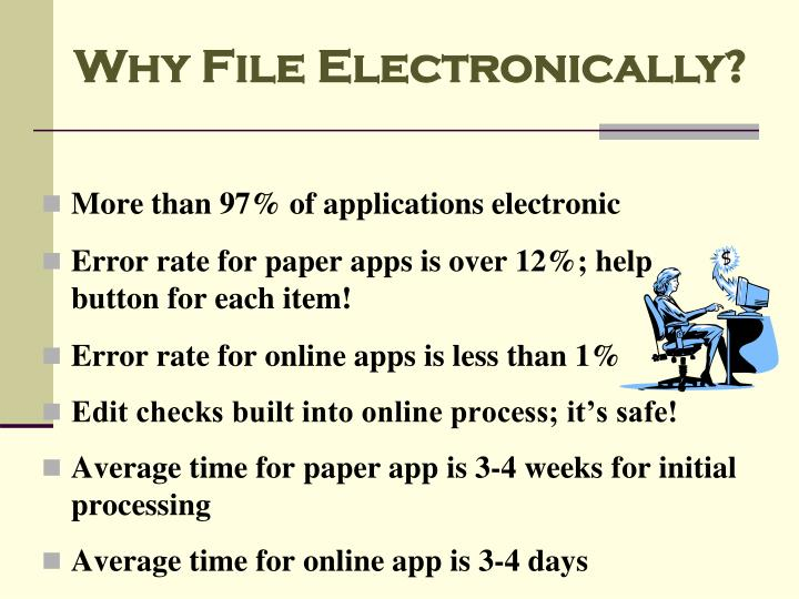 Why File Electronically?