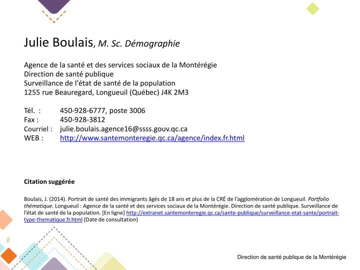 Julie Boulais