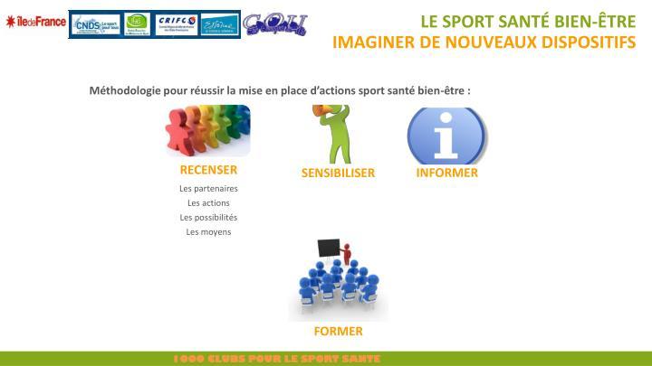 Le sport santé bien-être