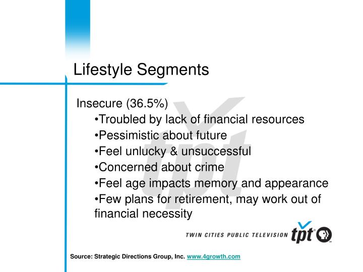 Lifestyle Segments