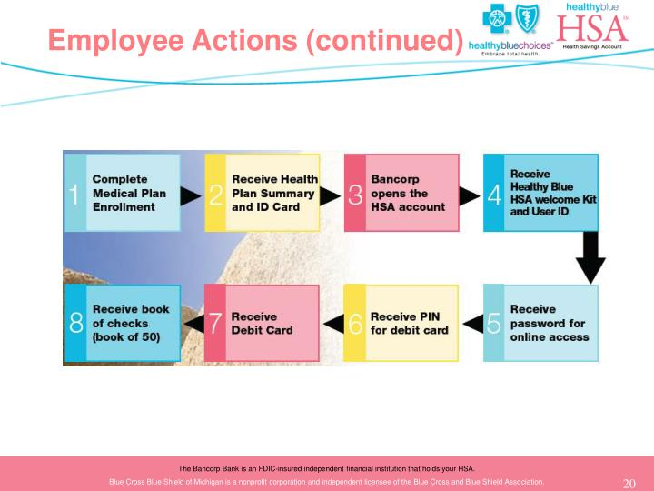 Employee Actions (continued)