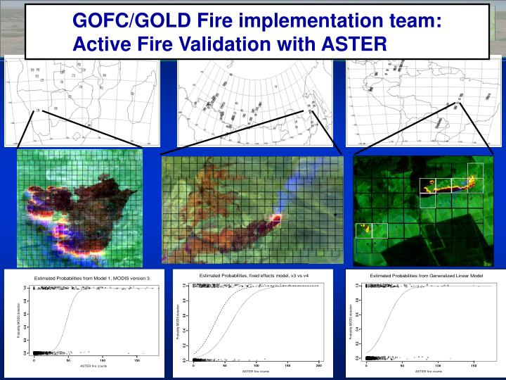 GOFC/GOLD Fire implementation team: