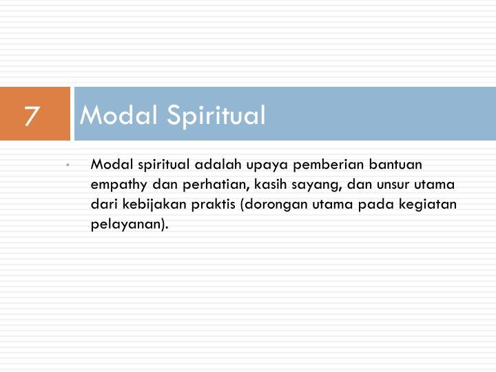 Modal Spiritual