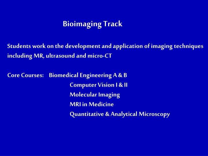 Bioimaging Track