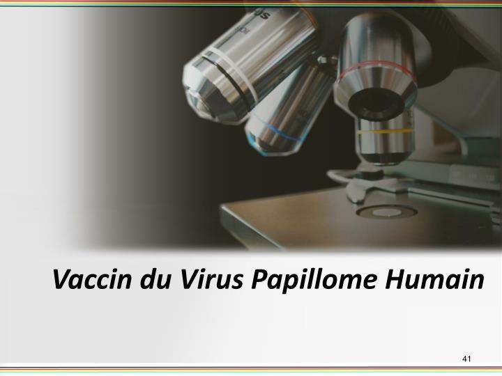 Vaccin du Virus Papillome Humain