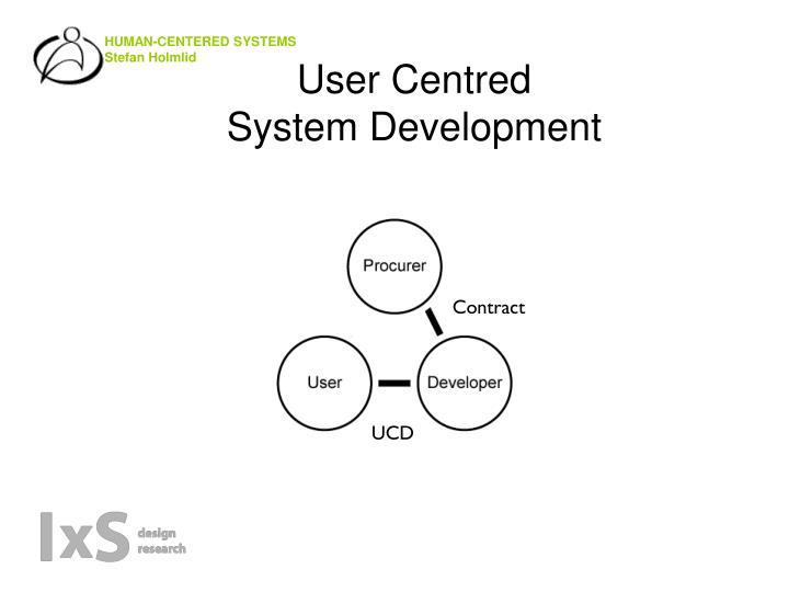 User Centred