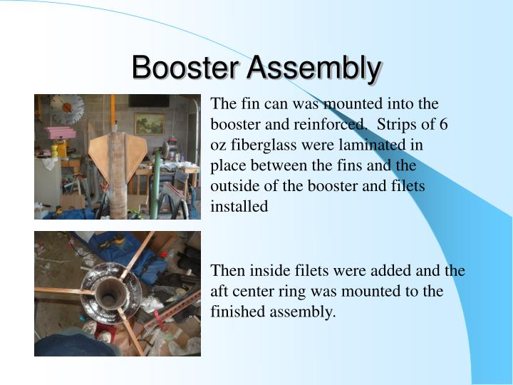 Booster Assembly