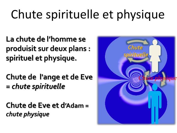Chute spirituelle et physique