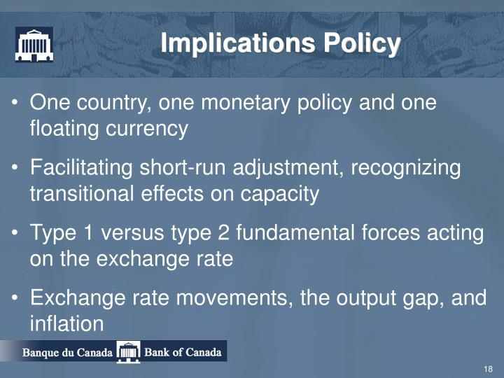Implications Policy
