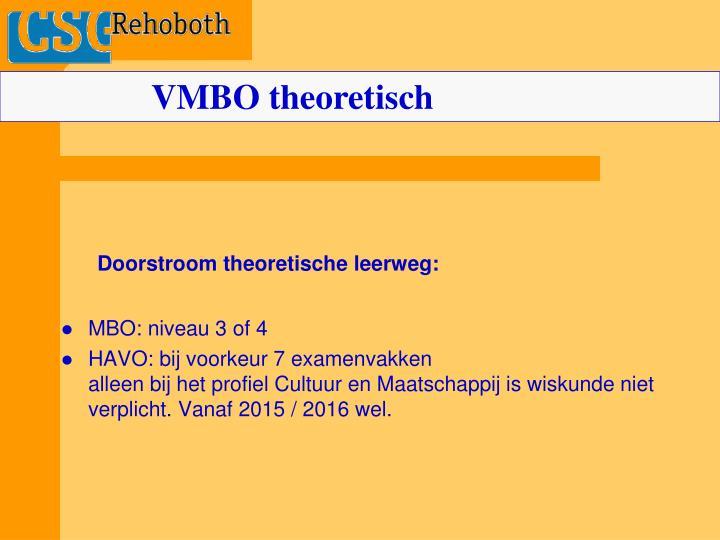 VMBO theoretisch
