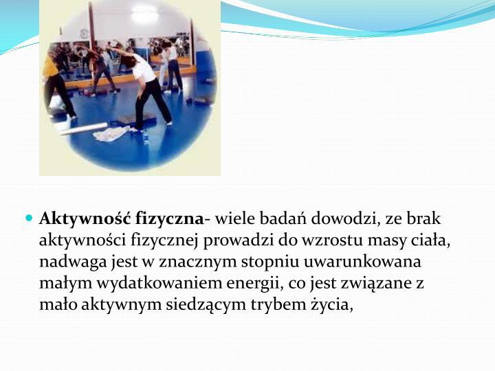 Aktywność fizyczna-