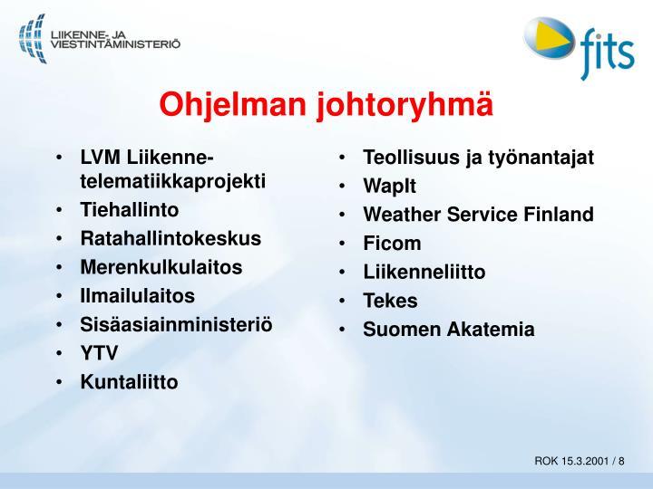 LVM Liikenne-telematiikkaprojekti