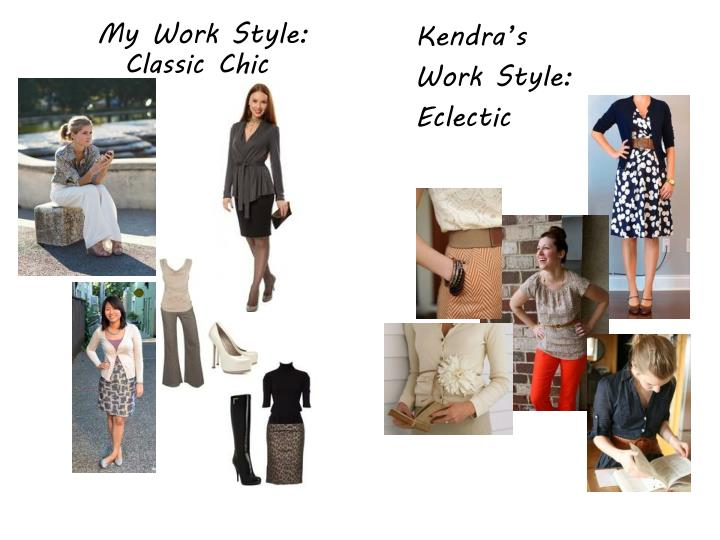 My Work Style: Classic Chic