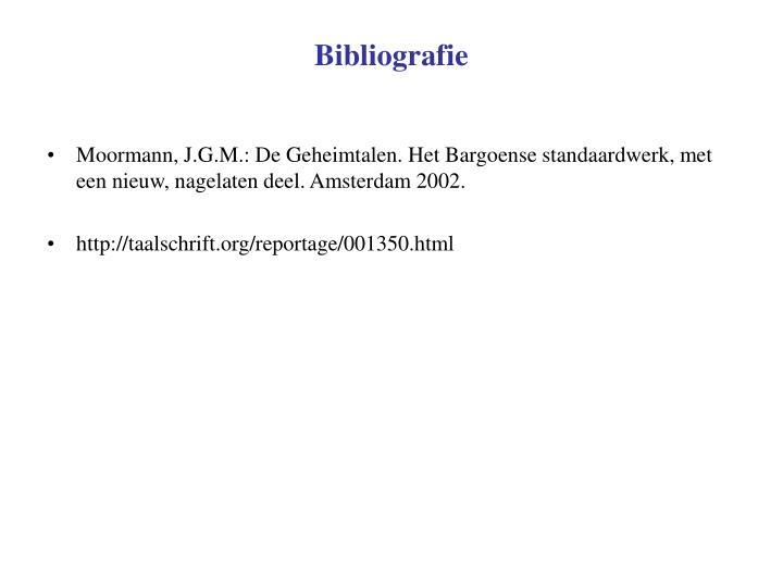 Bibliografie