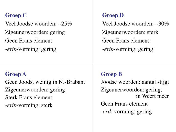 Groep A