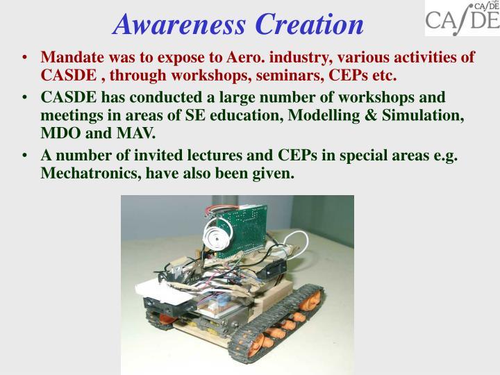 Awareness Creation