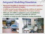 integrated modelling simulation