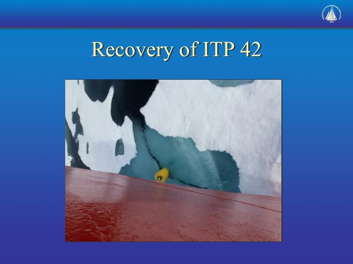 Recovery of ITP 42
