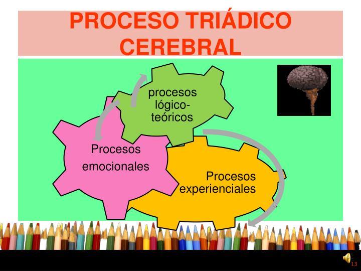 PROCESO TRIÁDICO CEREBRAL
