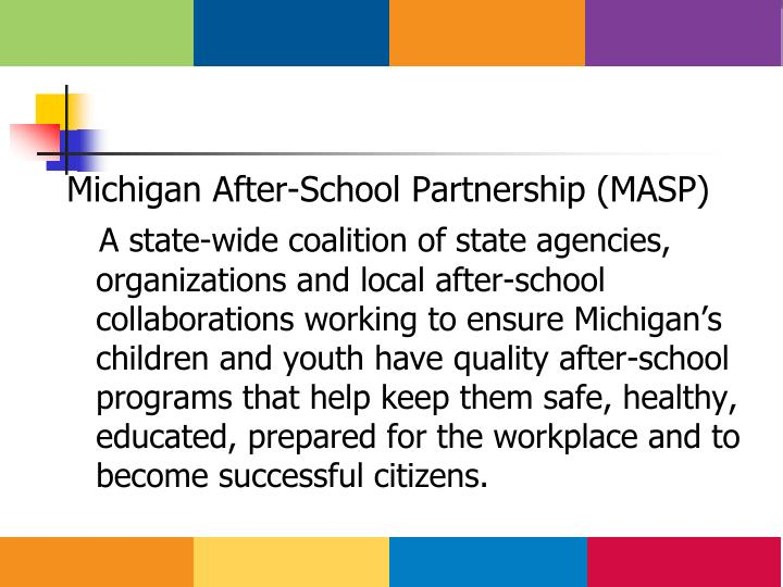 Michigan After-School Partnership (MASP)