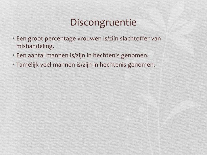 Discongruentie