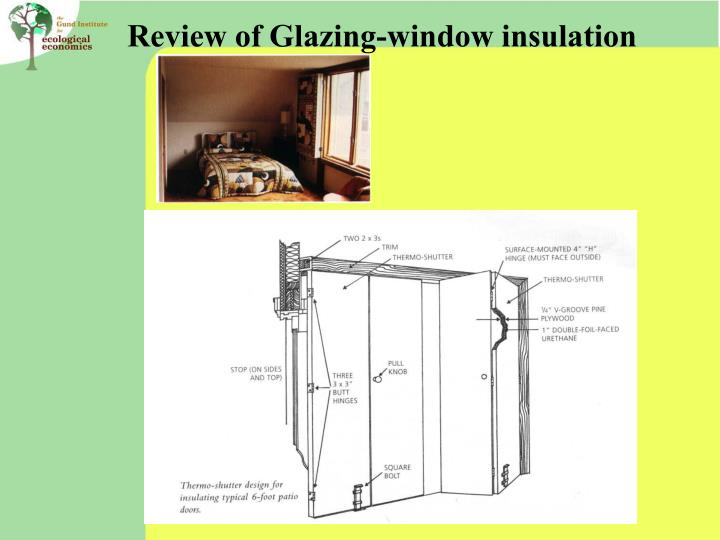 Review of Glazing-window insulation