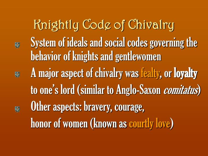 Knightly Code of Chivalry