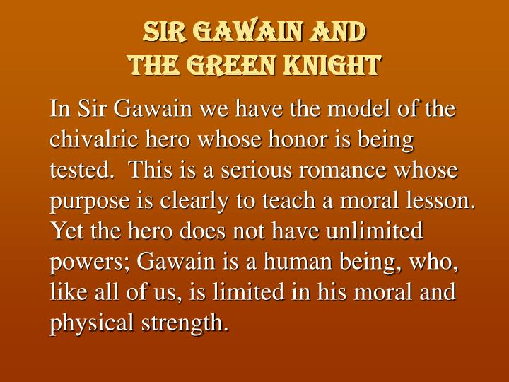 Sir Gawain and