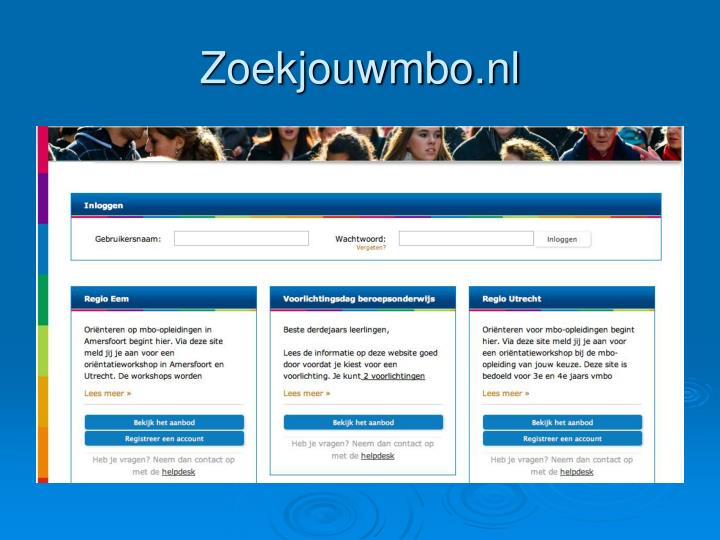 Zoekjouwmbo.nl