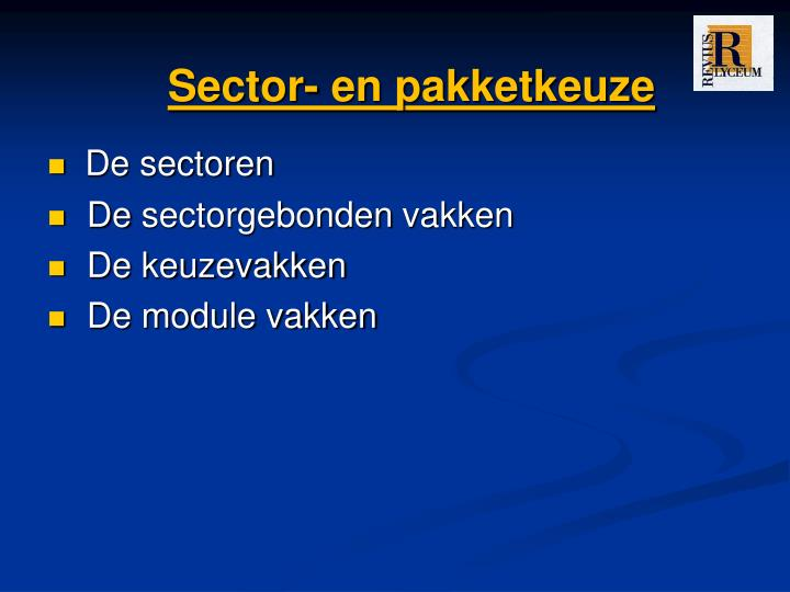 Sector-