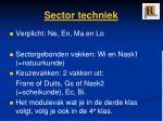 sector techniek1