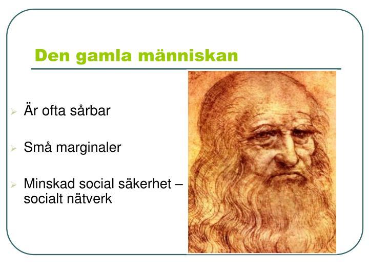 Den gamla människan