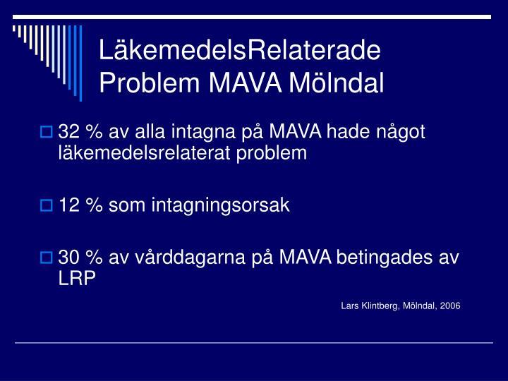 LäkemedelsRelaterade Problem MAVA Mölndal