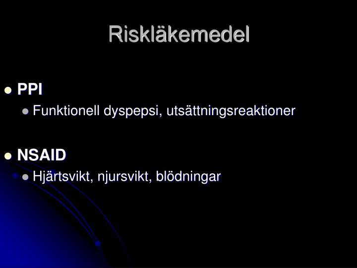 Riskläkemedel